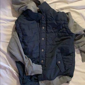 RVCA vest-sweatshirt